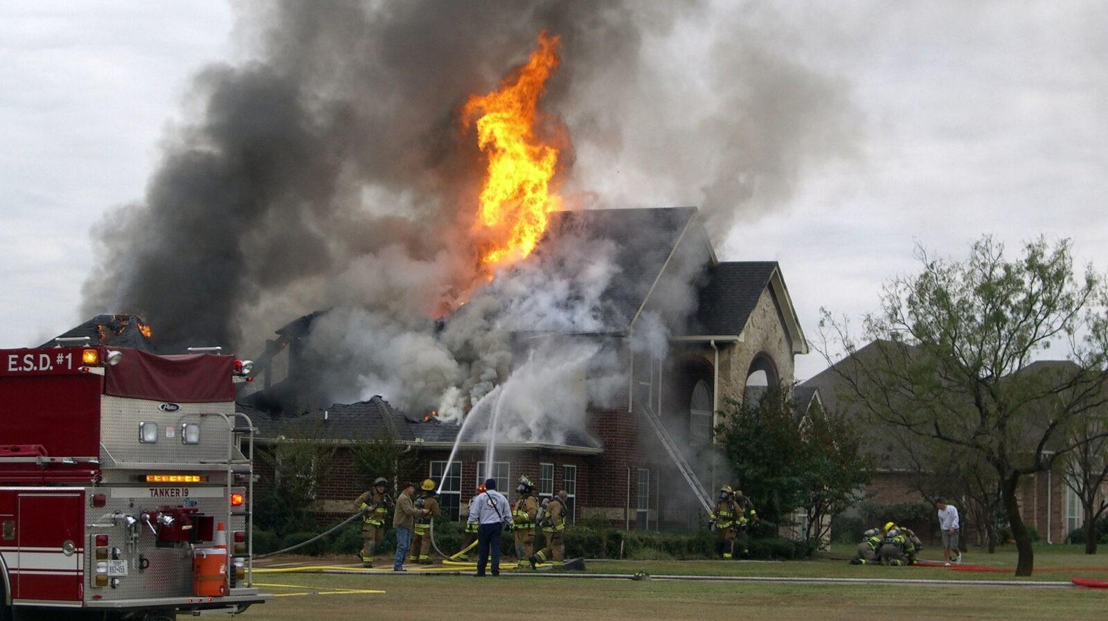 Fire Damage Image